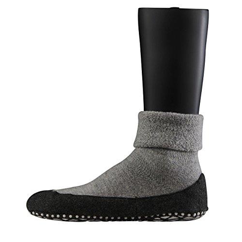 Falke 16560 Cosyshoe Socke - Calcetines cortos para hombre gris (Light Grey 3400)