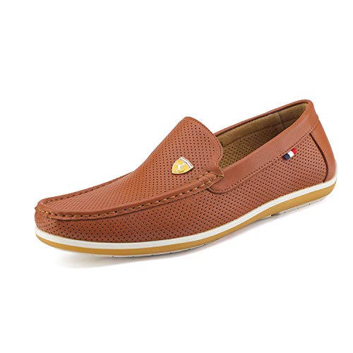 Bruno Marc Men's Bush Driving Loafers Moccasins Shoes