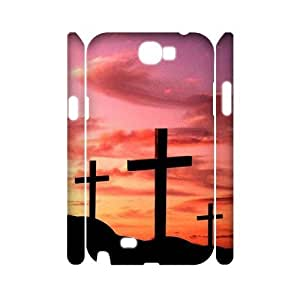 Cross Brand New 3D Cover Case for Samsung Galaxy Note 2 N7100,diy case cover ygtg549797