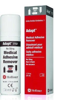 Hollister Adapt Medical Adhesive Remover, No Sting, 360 Degree Spray 1.7 oz