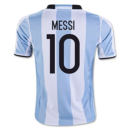 2016-17 Argentina Home Shirt (Messi (Argentina Adult Soccer Jersey)