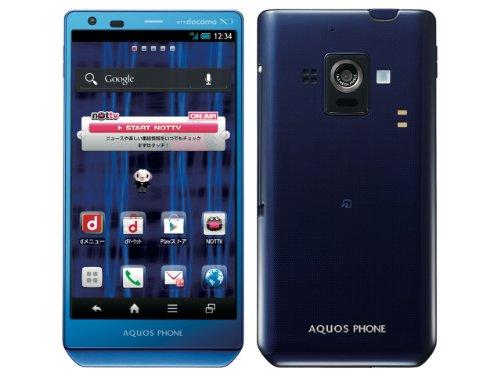 AQUOS PHONE ZETA docomo SH-02E Blue Unlocked Android Smart Phone (Smart Phone Sharp compare prices)