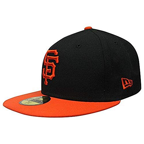 New Era 59FIFTY San Francisco Giants Black MLB 2017 Authentic Collection On Field Alternate Fitted Cap Size 7 1/2