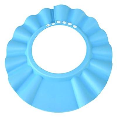 HOOYEE Safe Shampoo Shower Bathing Protection Bath Cap Soft Adjustable Visor Hat for Toddler, Baby, Kids, Children