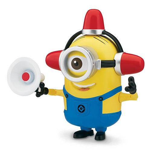 Despicable Me 2 Deluxe Action Figure Fireman/Lucy