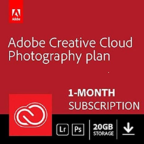 Amazon.com: Adobe Creative Cloud Photography plan 20 GB ...