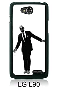 Beautiful And Unique Designed Case For LG L90 With Kanye West black Phone Case