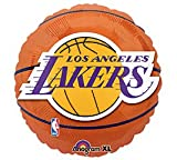 (US) Anagram International Los Angeles Lakers Flat Party Balloons, 18