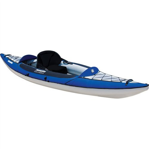 Aquaglide Fins - Aquaglide Columbia 110 Inflatable Kayak