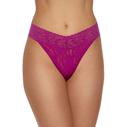 Hanky Panky Signature Lace Original Rise Thong #4811P,One Size,Belle ()