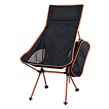 Portacamp Ultralight Compact Folding Camping/Tailgating/Picnic/Sports Chair