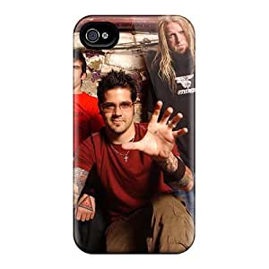 ColtonMorrill Iphone 4/4s High Quality Hard Phone Cases Support Personal Customs Colorful Papa Roach Image [Eoq17740hBXo]