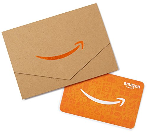 Amazon.com Gift Card in a Mini Envelope (Kraft)]()