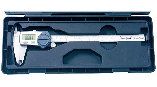 0-8//0-200mm Range.001//.02mm Accuracy 0-8//0-200mm Range.001//.02mm Accuracy HHIP Dasqua 4109-3048 IP67 Waterproof Digital Electronic Caliper