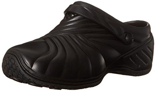 Dickies Women's Zigzag Work Shoe, Black, 8 M US Dickies Slip