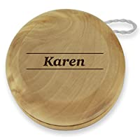 Dimension 9 Karen Classic Wood Yoyo with Laser Engraving