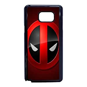 Samsung Galaxy Note 5 Phone Case Black Deadpool ESTY7923108