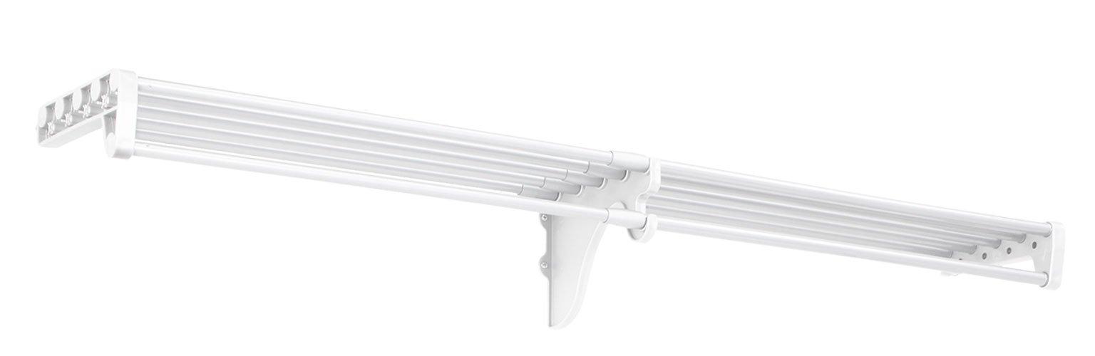 EZ SHELF - 40'' - 73'' - Shoe Rack - White