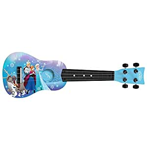 first act fr285 disney frozen mini guitar ukulele musical instruments. Black Bedroom Furniture Sets. Home Design Ideas