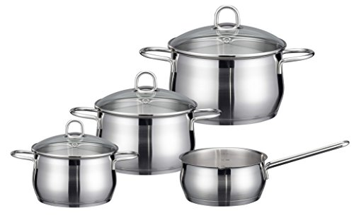 ELO Cookware 90604 Platin Stainless Steel Kitchen Induction