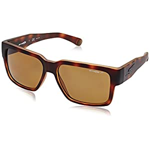 Arnette Supplier Unisex Polarized Sunglasses - 2152/83 Fuzzy Havana/Brown