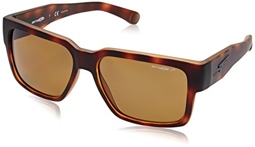 Arnette Supplier Unisex Polarized Sunglasses - 2152/83 Fuzzy Havana/Brown by Arnette