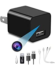 1080P small home camera, portable plug-and-play home camera, without WiFi plug, it can record cyclically, compatible with 4GB to 256GB.
