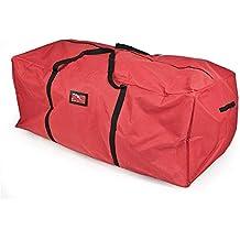 Santas Bags SB-10133 Christmas Tree Storage Bag for 6-9-Feet Trees - Red