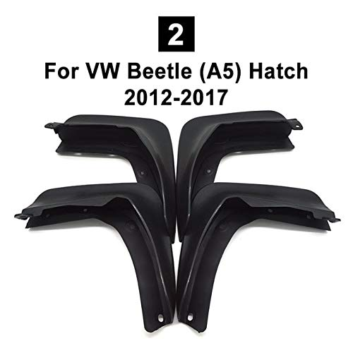 Mudguards NWIEV Car Front Rear Mudguards Modified For VW Sharan/Seat Alhambra 7N 2011-2016 Beetle (A5) Hatch 2012-2017 Santana 2013-2015 - (Color: Beetle ()