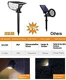 JESLED 14 LED Solar Landscape Spotlights, Outdoor