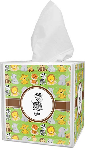 RNK Shops Safari Tissue Box Cover (Personalized)