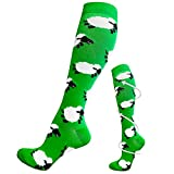 Compression Socks for Women and Men - Best Medical,for Running, Athletic, Varicose Veins, Travel (1 Pair - 04 Sheep, Small/Medium)