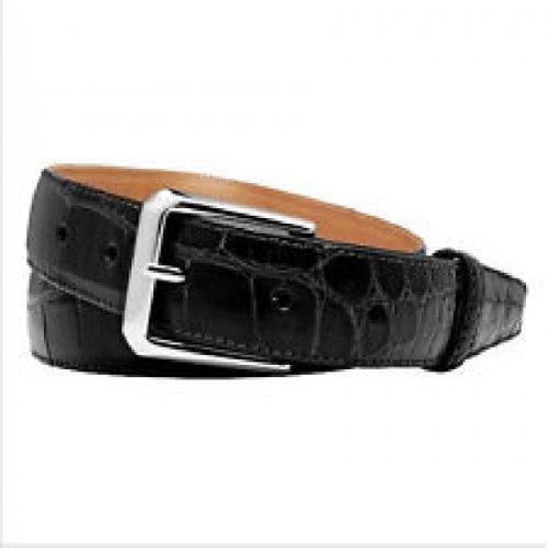 (Trafalgar Classic Black Alligator Belt Size 36)