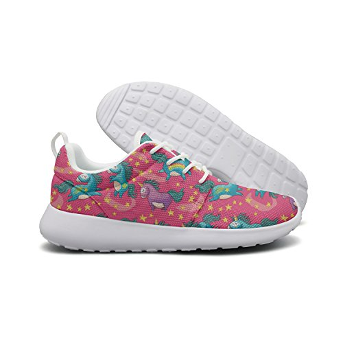 Cute Unicorn Shoes Pink Running Red Women Tennis For ERSER Star Iq5f0
