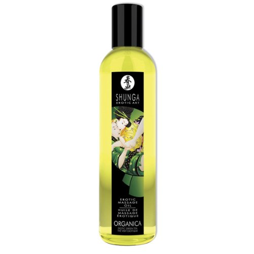 - Erotic Massage Oil, Organic Green Tea, 8.4 oz