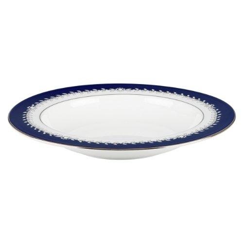 Lenox Marchesa Couture Pasta/Rim Soup Bowl, Empire Pearl Indigo