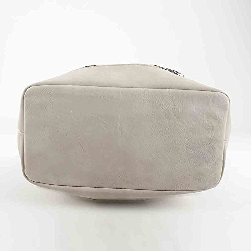 Women's Bolso saco Bag Grey Bluebags Messenger étnico Taupe tipo PSwnanx