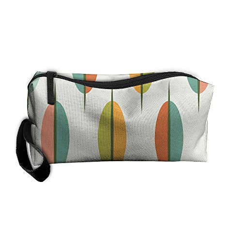 Jessent Coin Pouch Art Shock Intermediate Pen Holder Clutch Wristlet Wallets Purse Portable Storage Case Cosmetic Bags -