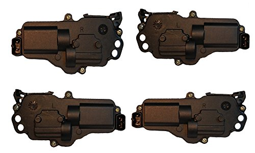4 Ford Door Lock Actuators 2 Left and 2 Right locks fit select Ford Lincoln Mercury - Door Lock Actuator Motors F150 F250 F350 F450 F550 Excursion Navigator Expedition Mustang Ranger for select models from 1999 through 2010, 3L3Z25218A43AA, 3L3Z25218A42AA, 6L3Z25218A43AA, 6L3Z25218A42AA