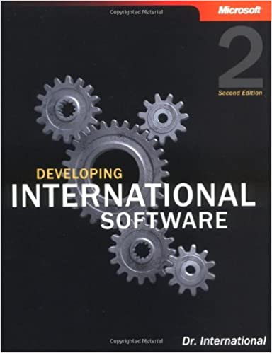 Developing International Software (2nd Edition) (Developer Reference)