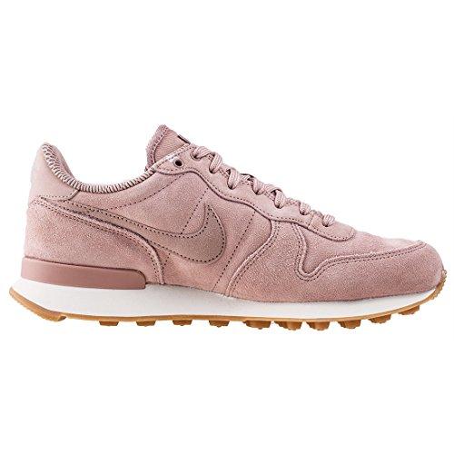 Nike Damen Internationaliste Soi Rose Leder / Textil Chaussure Rose (rose Particule / Gris Pâle / Gomme Brun Clair)