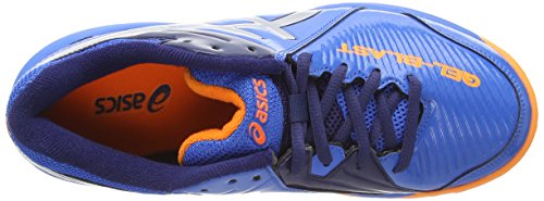 Electric Blue Silver Multisport Indoor 3993 Hot Blue Shoes Asics Gel Gs Blast 6 Unisex Kids' Orang nqfvxp
