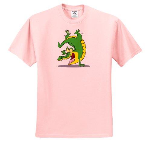 dooni-designs-random-toons-happy-alligator-crocodile-cartoon-dancing-t-shirts-adult-light-pink-t-shi