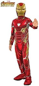 DISBACANAL Disfraz Iron Man Infinity War Infantil - -, 8-10 años ...