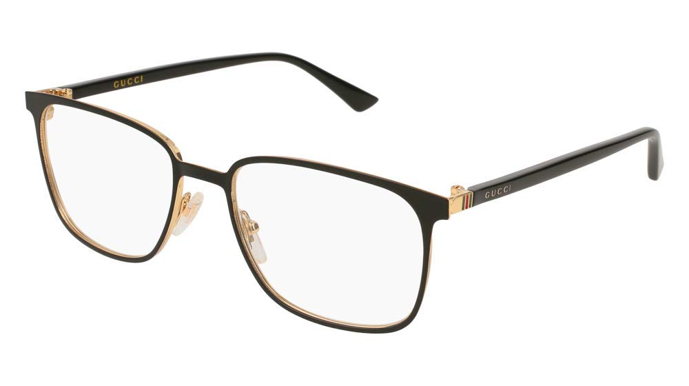 Gucci GG0294O Eyeglasses 002 Black 54 mm