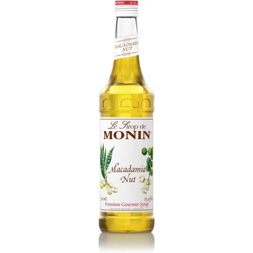 (Monin Macadamia Nut Syrup 750ml)