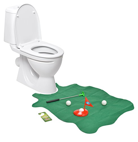 Toilet Golf Joke Novelty Set product image