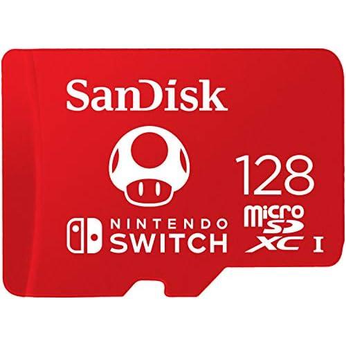 chollos oferta descuentos barato Tarjeta SanDisk microSDXC UHS I para Nintendo Switch 128GB Producto con Licencia de Nintendo