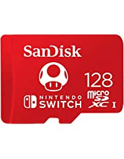 SanDisk 128GB microSDXC UHS-I-Memory-Card for Nintendo-Switch - SDSQXAO-128G-GNCZN