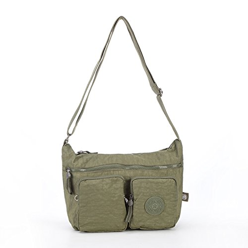 Side Shoulder Sport Women Bag Satchel For Fashion Pack Bookbag Body Foino 1 Cross Designer Messenger Green Travel Crossbody School v5Fdp
